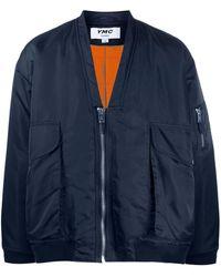 YMC ジップ ボンバージャケット - ブルー