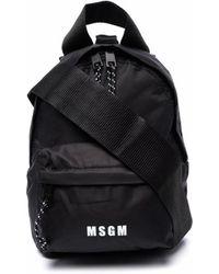 MSGM バックパック - ブラック