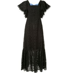 Sachin & Babi Camryn アイレットレース ドレス - ブラック