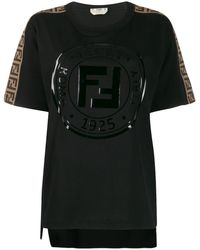 Fendi - ロゴ Tシャツ - Lyst