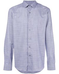 Lanvin - Checked Shirt - Lyst