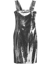 Galvan London スパンコール ドレス - グレー