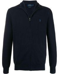 Polo Ralph Lauren ジップアップ セーター - ブルー
