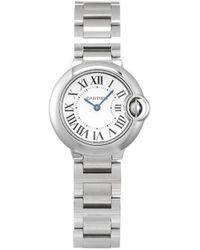 Cartier Наручные Часы Ballon Bleu Pre-owned 28.6 Мм 2020-го Года - Белый