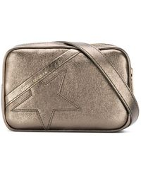 Golden Goose Deluxe Brand Metallic Star Belt Bag - Green