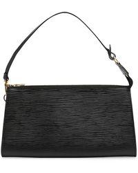 Louis Vuitton Клатч Pochette Accessoires 1999-го Года - Черный