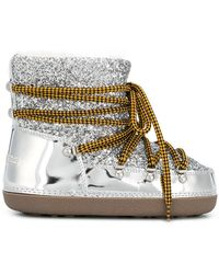 DSquared² - Metallic Moon Boots - Lyst