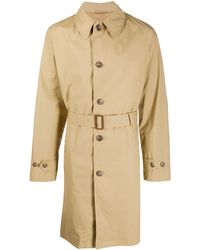 Polo Ralph Lauren Belted Trench Coat - Natural
