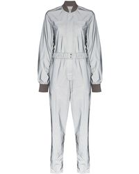 Kirin Reflective Bomber Jumpsuit - Metallic