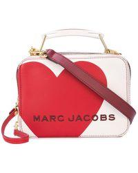 Marc Jacobs 'The Box 20' Umhängetasche - Rot