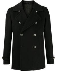 Tagliatore Двубортное Пальто Monaco - Черный