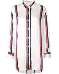 Beautiful Bottoms - Bold Stripe Sleep Shirt - Lyst