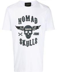 John Richmond スパンコール Tシャツ - ホワイト