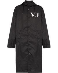 Valentino X Undercover Jas Met Ufo-print - Zwart