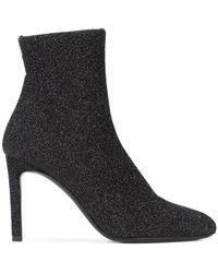 e147ad5007068 Giuseppe Zanotti - Glitter Sock Boots - Lyst