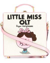 Olympia Le-Tan Bolso tote Little Miss OLT - Rosa