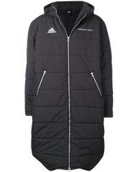 Gosha Rubchinskiy - Abrigo largo acolchado x Adidas - Lyst