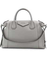 Givenchy Antigona Medium Tas - Grijs