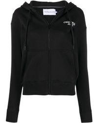 Calvin Klein Hoodie Met Logoprint - Zwart