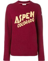 Moncler Aspen セーター - レッド