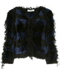 Sonia Rykiel - Striped Tweed Jacket - Lyst