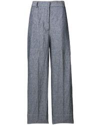 Lardini - Wide Leg Trousers - Lyst
