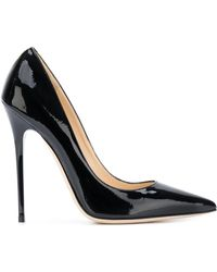 Jimmy Choo Anouk Pointy Court Shoes - Black
