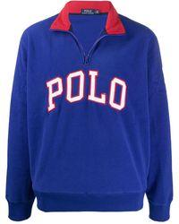 Polo Ralph Lauren フリース スウェットシャツ - ブルー