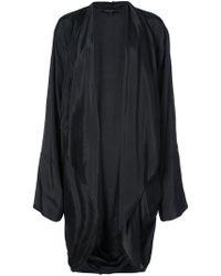 Urban Zen - Draped Open Front Jacket - Lyst