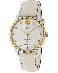 Gucci G-timeless Watch, 40mm - Metallic