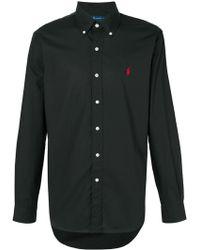 Ralph Lauren ロゴ シャツ - ブラック