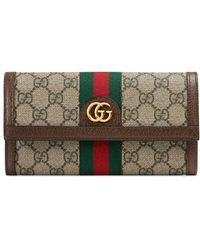Gucci - Ophidia GG Continental Wallet - Lyst