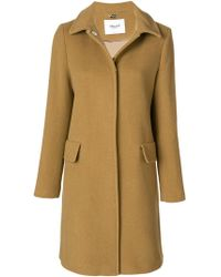 Blugirl Blumarine - Long Coat - Lyst