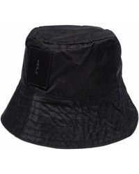 Ally Capellino Sombrero de pescador Bik - Negro
