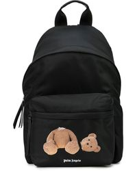 Palm Angels Bear-motif Backpack - Black