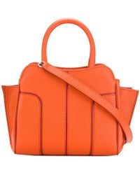 Tod's   Panelled Tote   Lyst