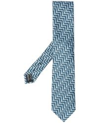 Tom Ford - Corbata con motivo de espiga - Lyst