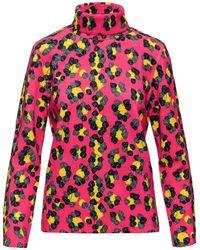 Aztech Mountain Matterhorn Leopard-print Jumper - Pink