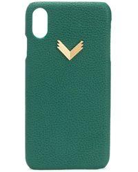 Manokhi Cover per iPhone XS Max X Velante - Verde