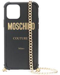 Moschino Iphone 11 Pro ケース - ブラック
