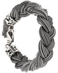 Emanuele Bicocchi - Braided Bracelet - Lyst