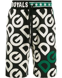 Dolce & Gabbana Шорты-бермуды С Логотипом - Черный