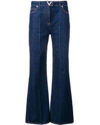Valentino V Detail Regular-fit Jeans - Blue
