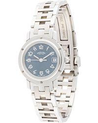 Hermès Наручные Часы Pre-owned Clipper Date - Металлик