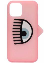 Chiara Ferragni ロゴ Iphone 12 Pro ケース - ピンク