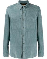AJMONE - Slim-fit Shirt - Lyst