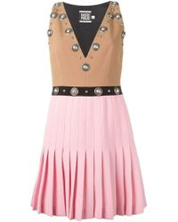 Fausto Puglisi - Colour Block Studded Dress - Lyst
