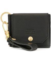 AS2OV フラップ財布 - ブラック