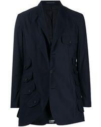 Yohji Yamamoto シングルジャケット - ブルー