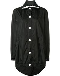 NO KA 'OI オーバーサイズ パーカーコート - ブラック